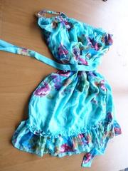 Платья,  сарафаны микс. Секонд хенд крем сорт+новые. Англия. На вес.