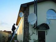 Установка спутникового ТВ и цифрового Т2 в Малиновском районе г. Одессы.