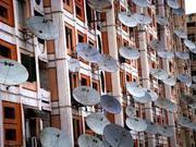 Установка спутникового ТВ и цифрового Т2 в Киевском районe г. Одессы.